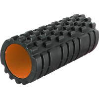 РОЛЛЕР МАССАЖНЫЙ POWER SYSTEM FITNESS FOAM ROLLER PS-4050 BLACK/ORANGE
