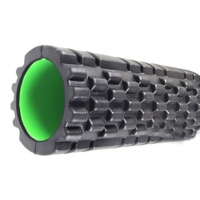 РОЛЛЕР МАССАЖНЫЙ POWER SYSTEM FITNESS FOAM ROLLER PS-4050 BLACK/GREEN